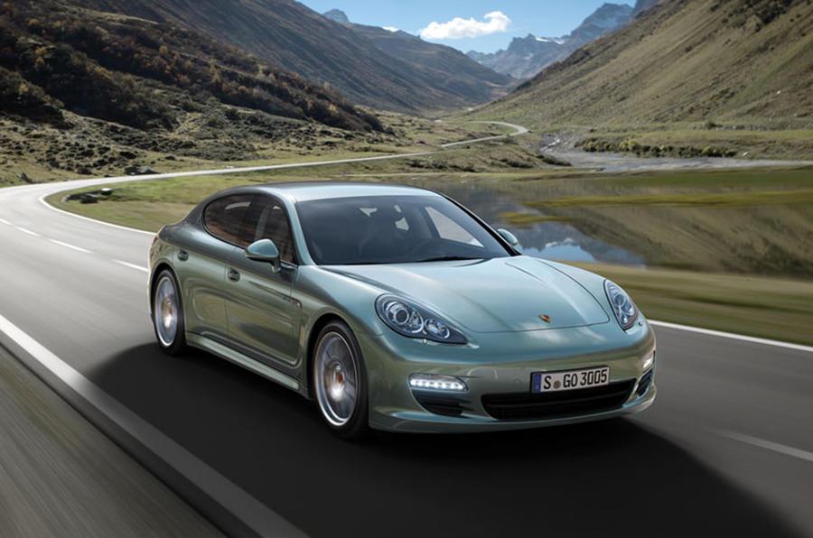Frankfurt: Porsche Panamera Diesel