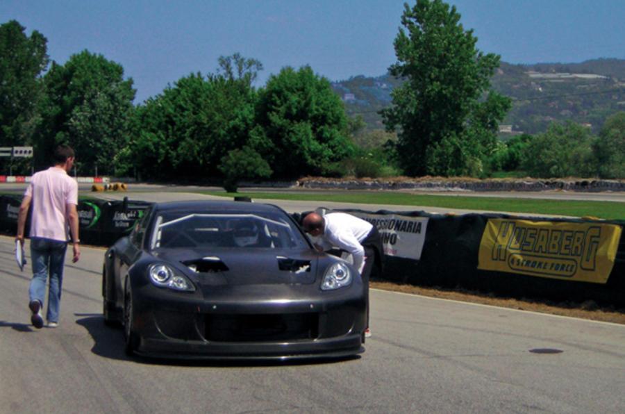 Porsche Panamera racer unveiled