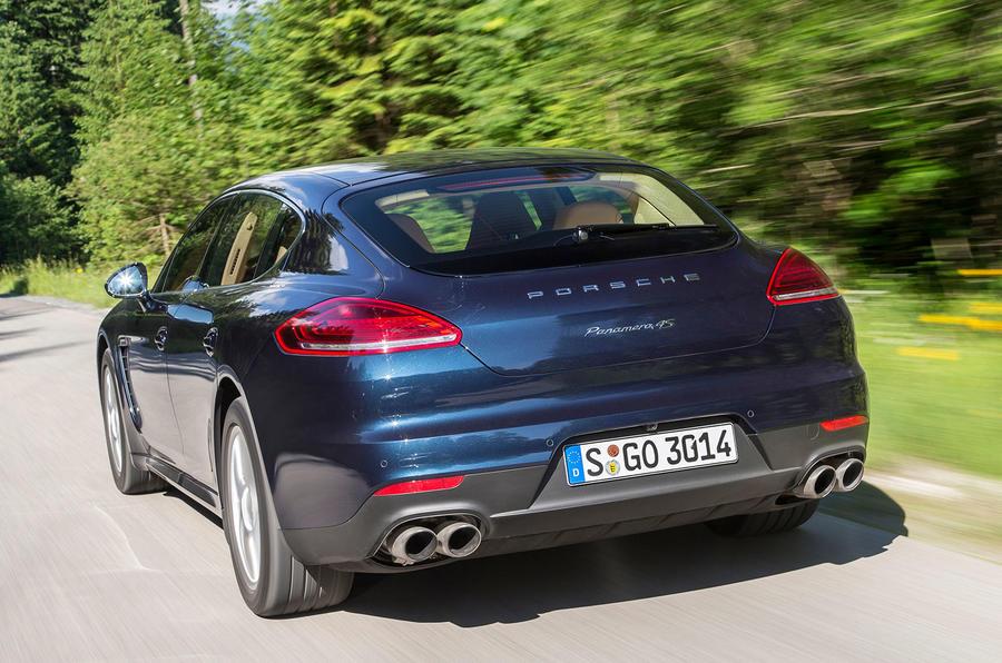 Porsche Panamera rear quarter