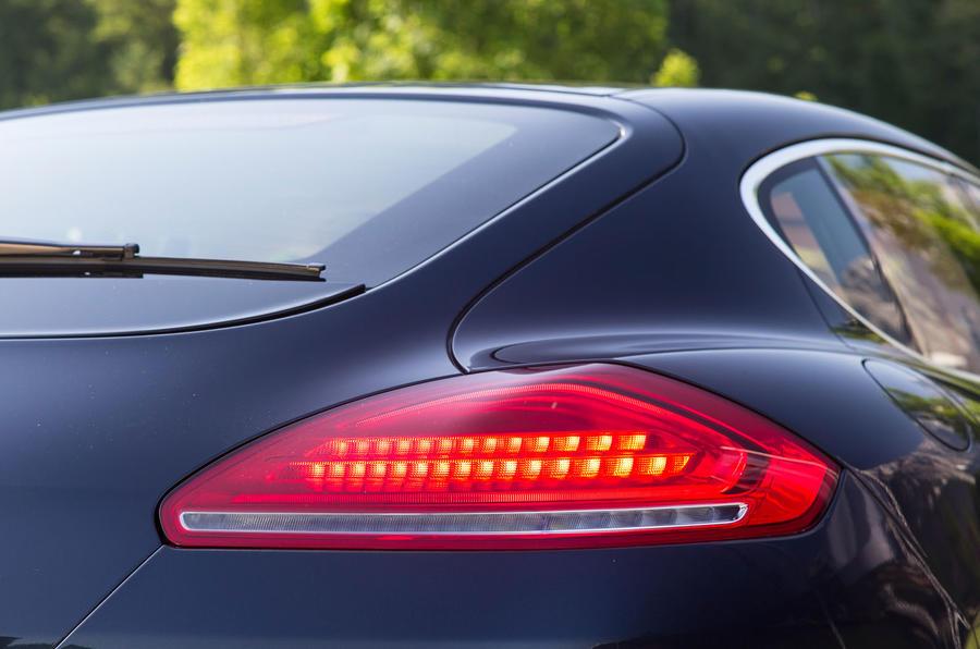 Porsche Panamera LED tailights