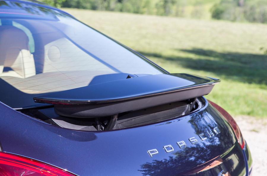 Porsche Panamera rear spoiler
