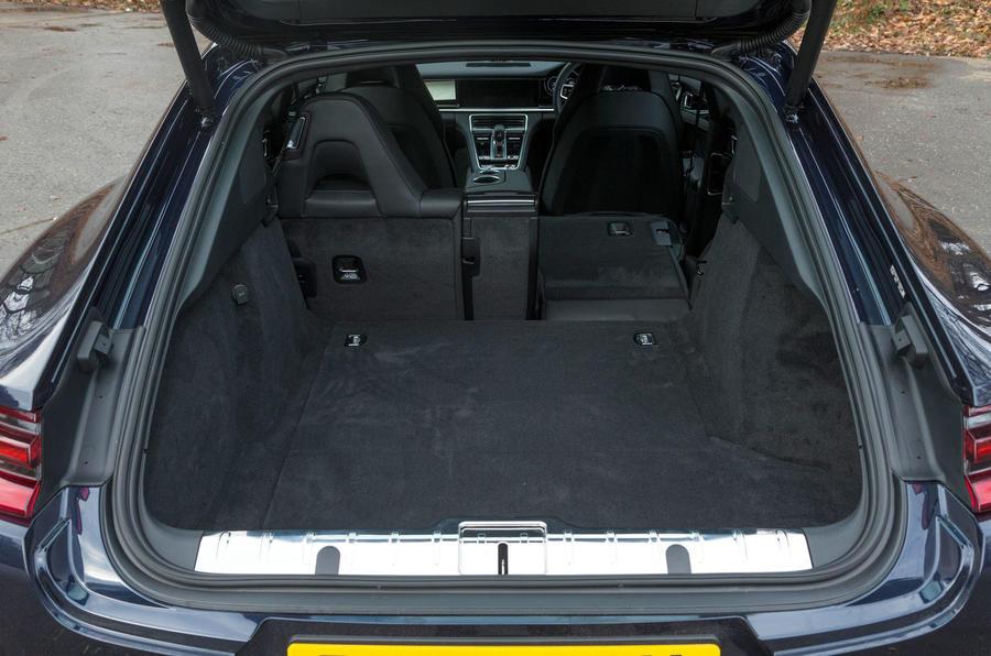 Porsche Panamera boot space