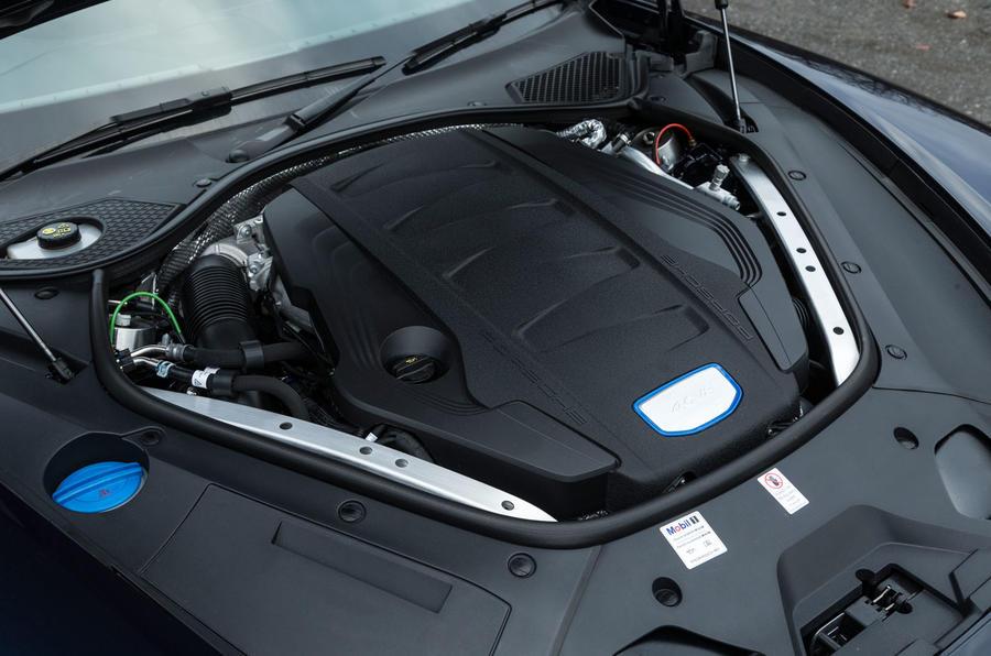 4.0-litre V8 Porsche Panamera diesel engine