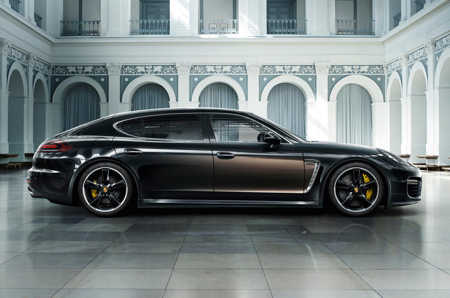 Porsche Panamera Turbo S Executive Exclusive revealed