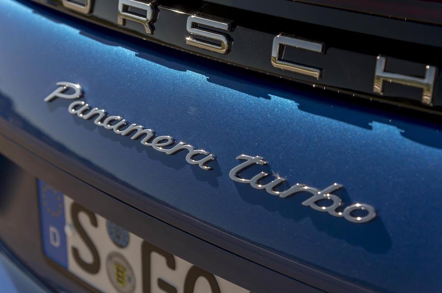 Porsche Panamera Sport Turismo badging