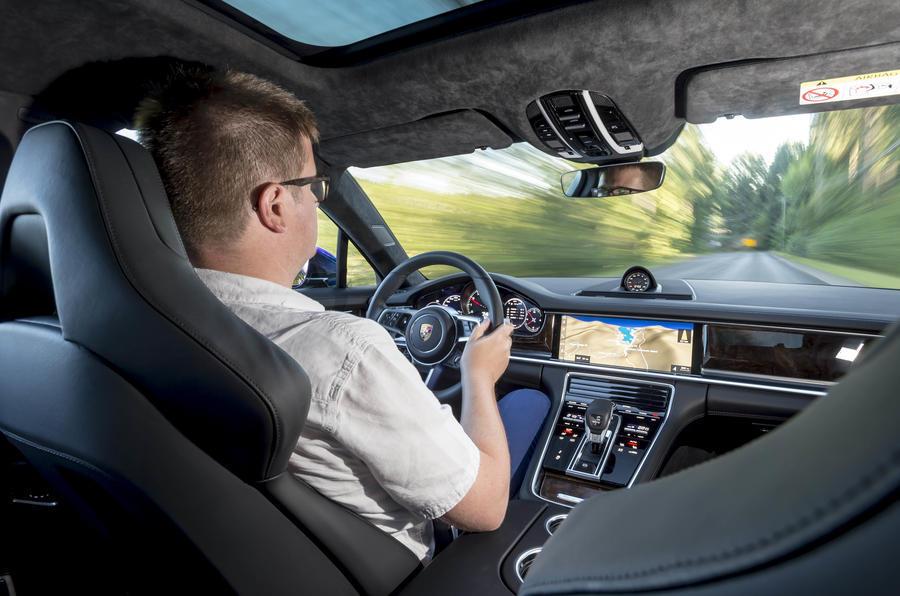 Driving the Porsche Panamera Sport Turismo