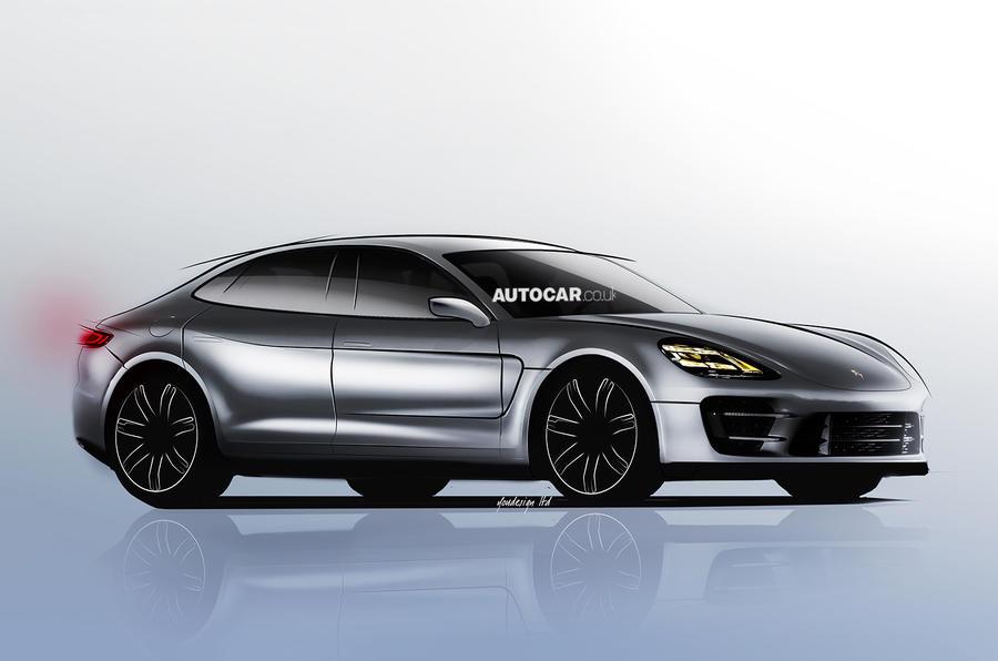 New Porsche saloon planned