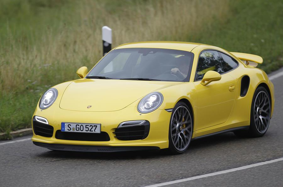 198mph Porsche 911 Turbo