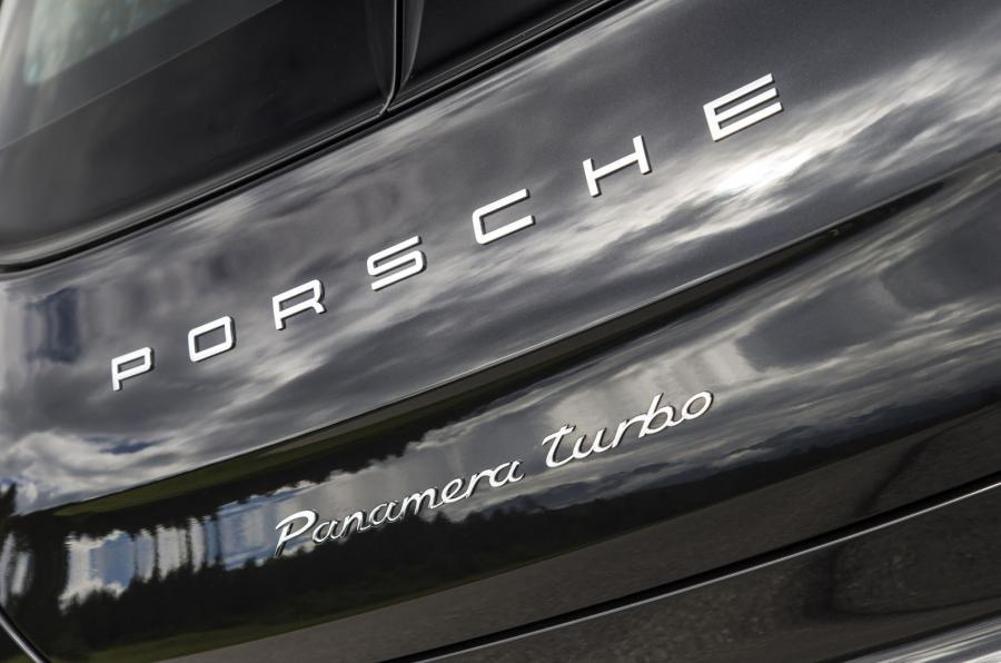 Porsche rear badging