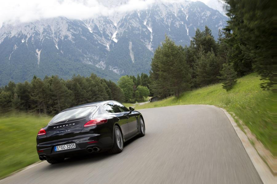 Porsche Panamera Turbo rear