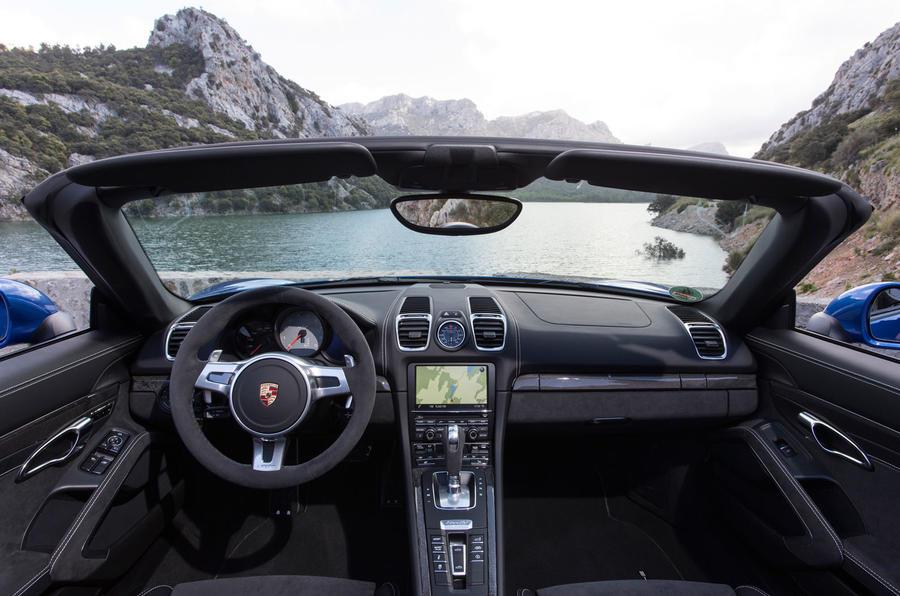 Porsche Boxster GTS dashboard