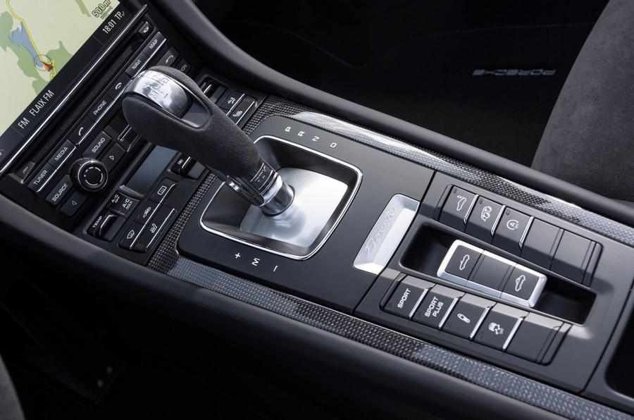 Porsche Boxster GTS PDK gearbox