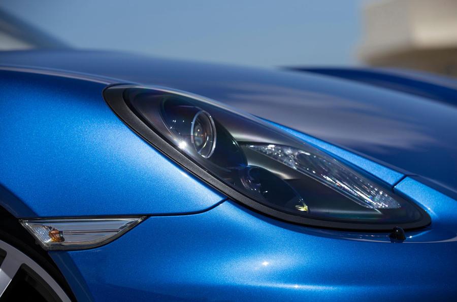 Porsche Boxster GTS headlight