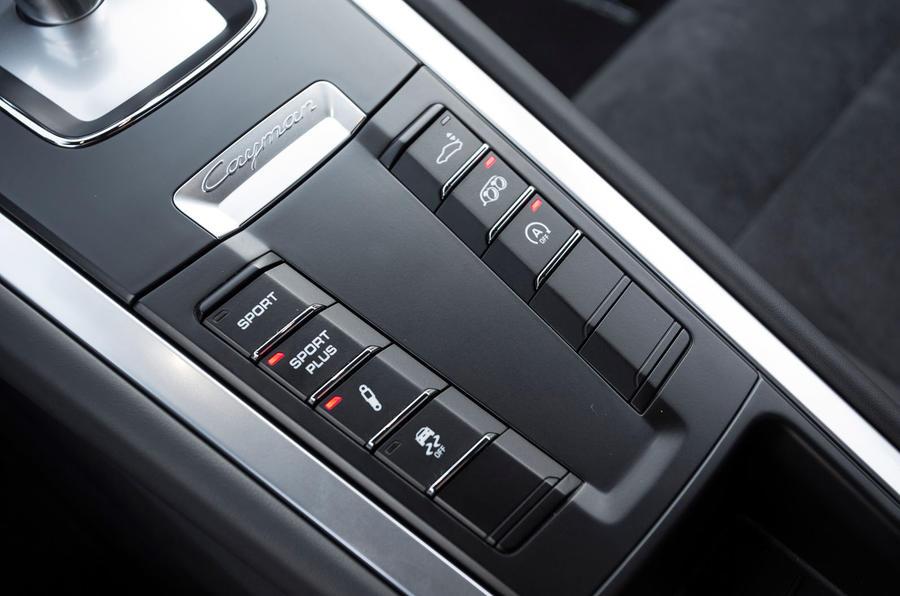 Porsche Cayman GTS adaptive suspension