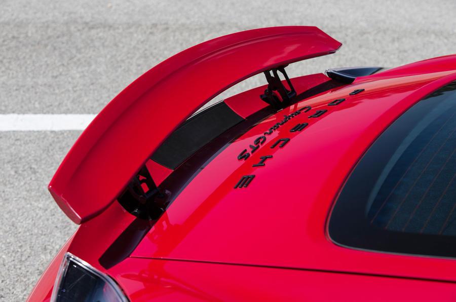 Porsche Cayman GTS rear wing