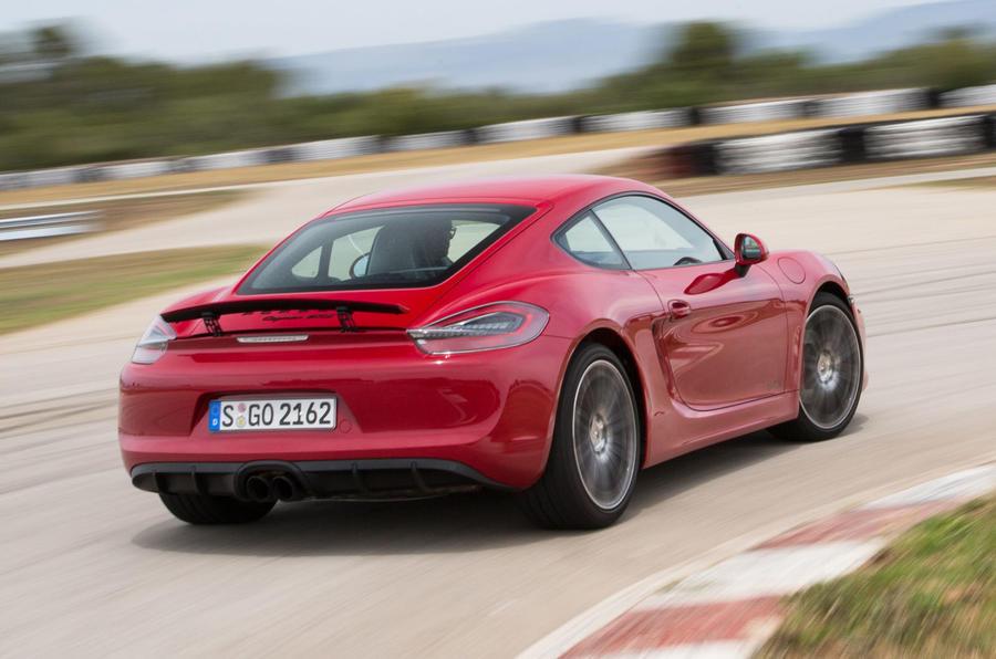 Porsche Cayman GTS rear