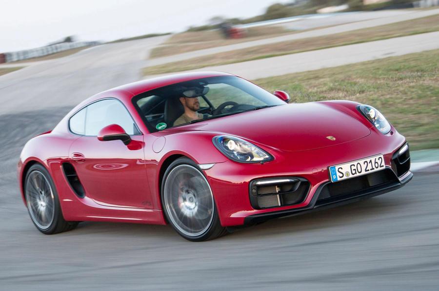 £55,397 Porsche Cayman GTS