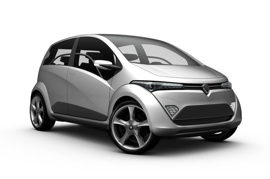 Geneva motor show: Hybrid Proton concept