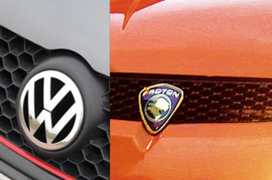 Proton in talks with VW