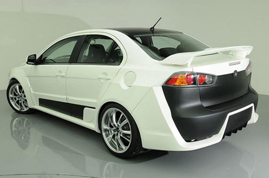 Proton makes a Mitsubishi Evo
