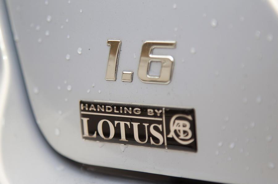 Proton Satria Neo Lotus badge