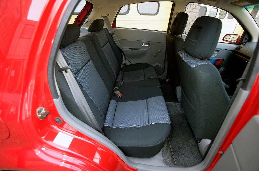 Proton Savvy rear seats