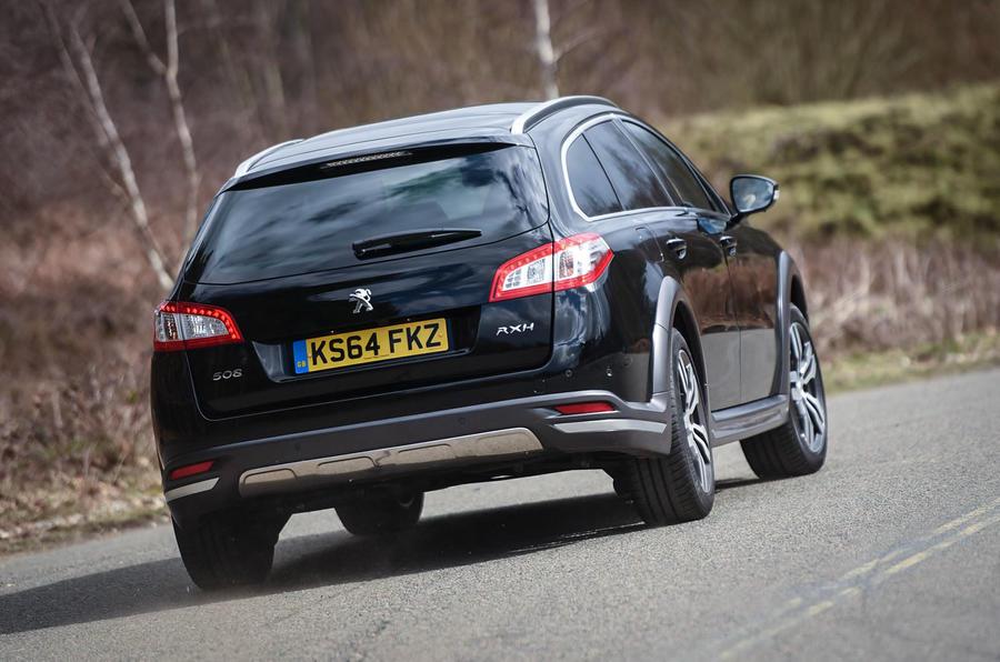 Peugeot 508 RXH rear