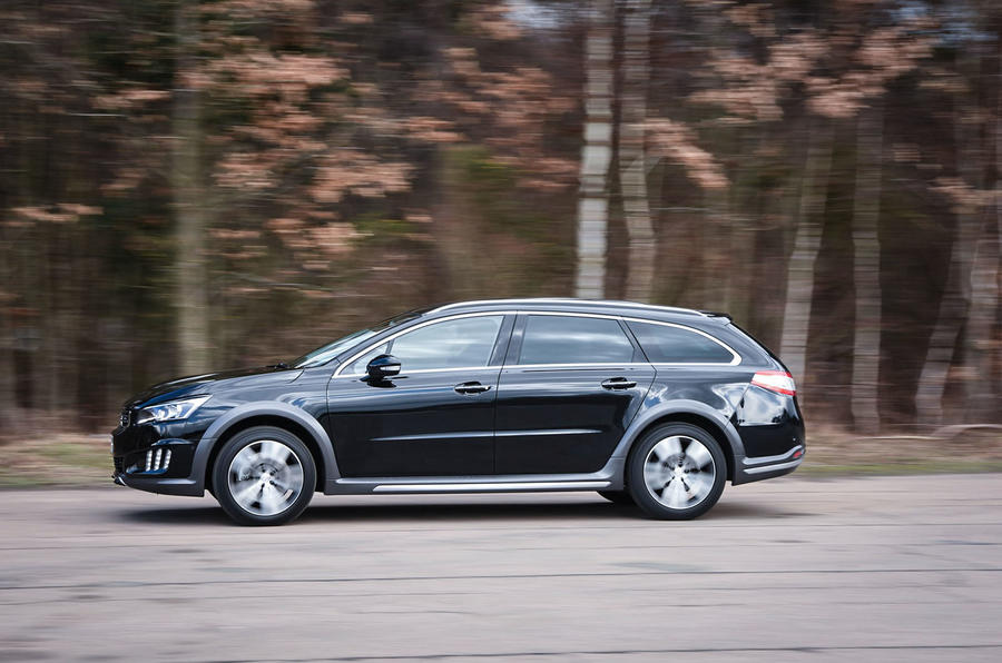 Peugeot 508 RXH side profile