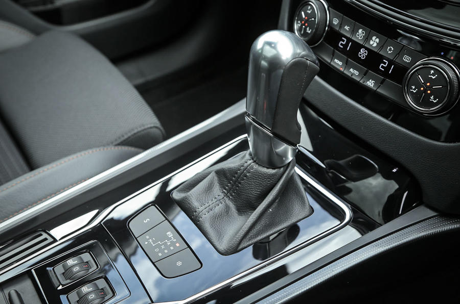 Peugeot 508 RXH manual gearbox