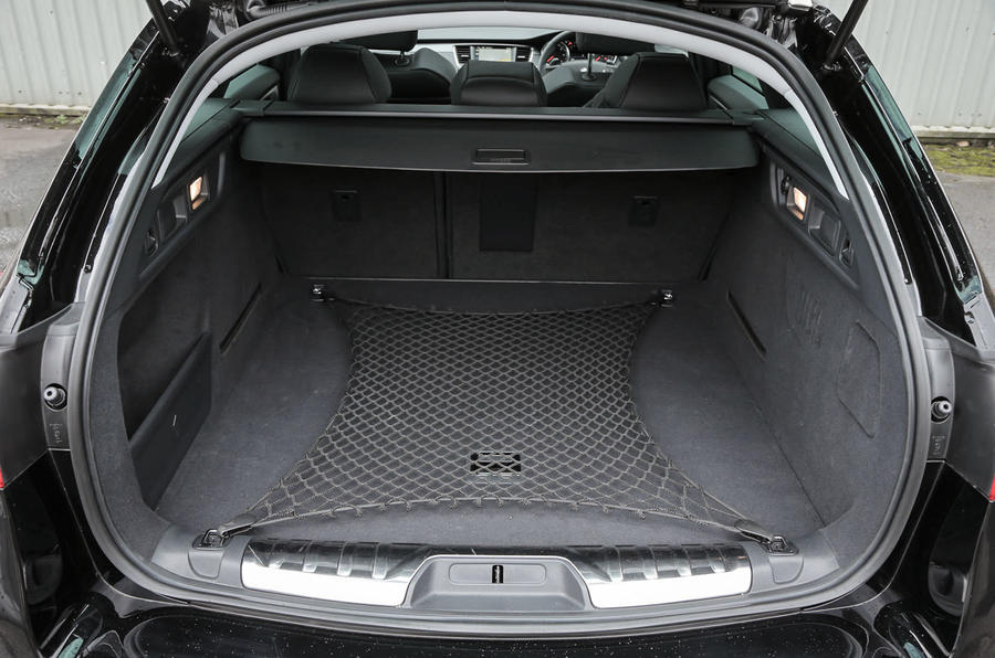 Peugeot 508 RXH boot space