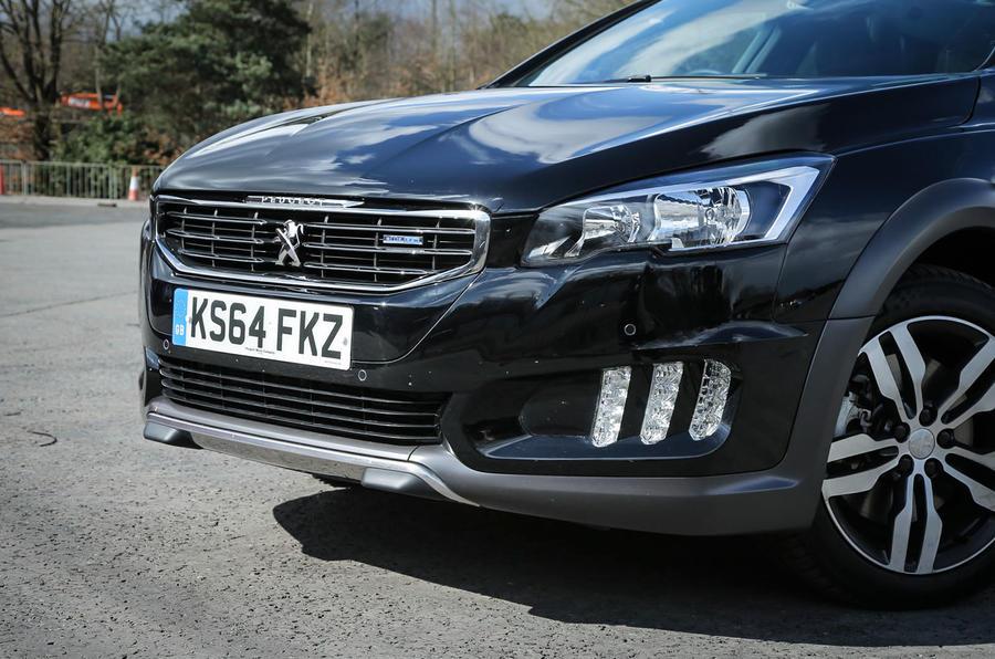 Peugeot 508 RXH front end
