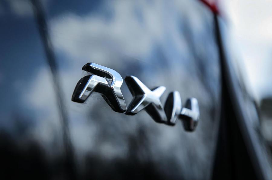 Peugeot 508 RXH badging