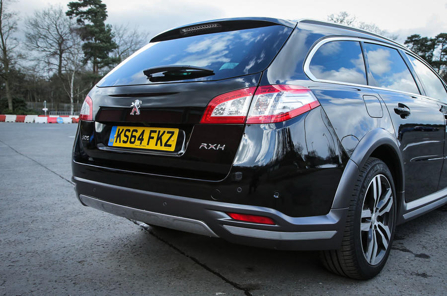 Peugeot 508 RXH rear end