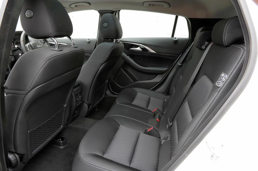 Infiniti Q30 rear seats