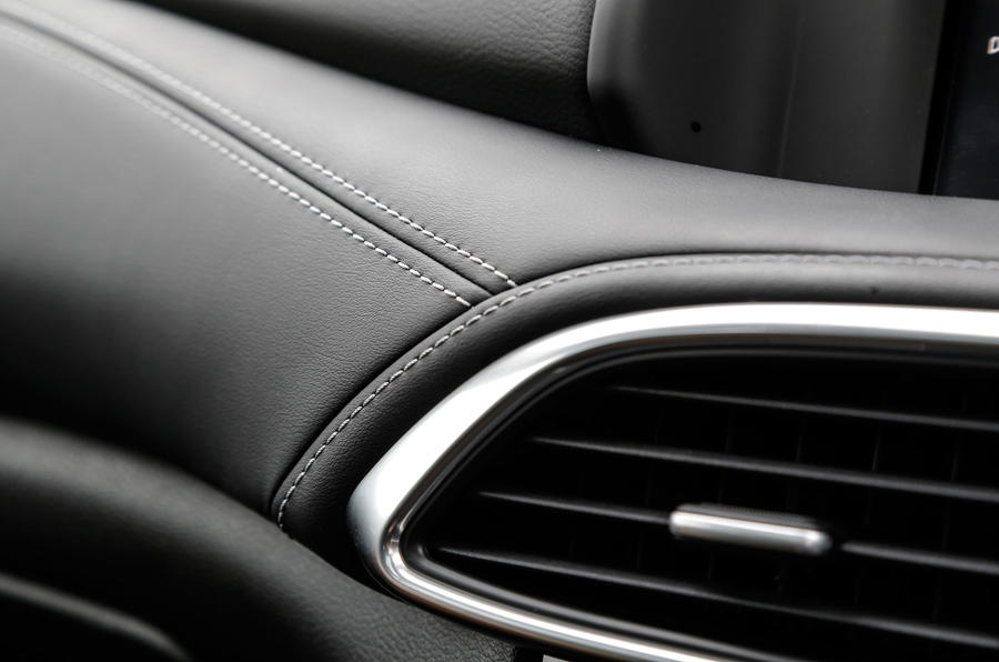 Leather-clad Infiniti Q30 upholstery