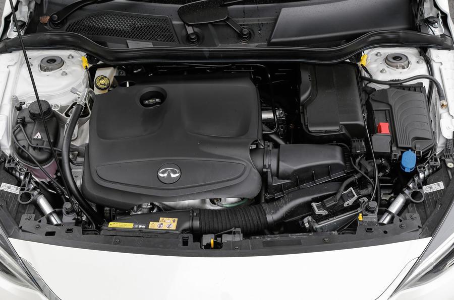 1.6-litre Infiniti Q30 engine