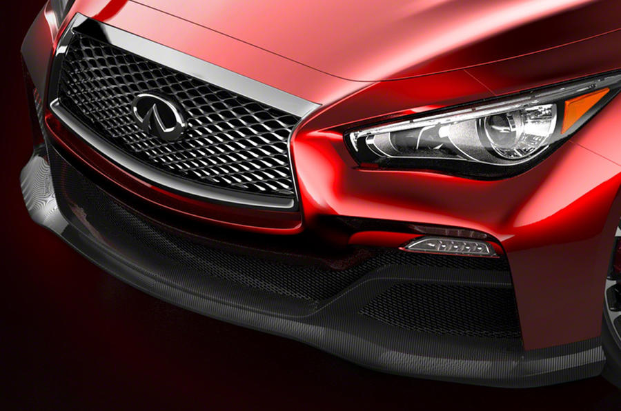 Infiniti Q50 Eau Rouge concept revealed