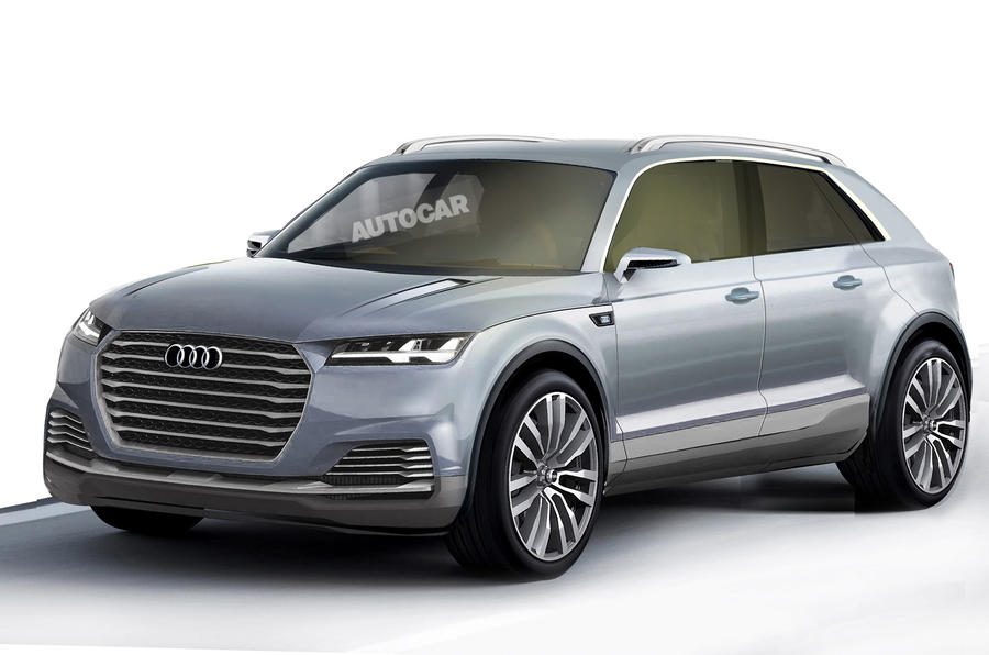 New Audi Q8 to lead upmarket SUV push