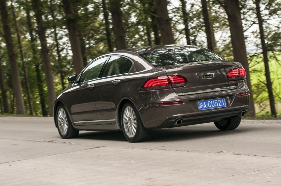 Qoros 3 rear quarter