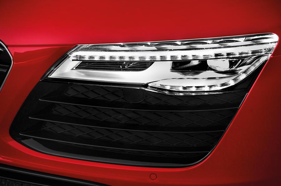 Audi R8 e-tron's LEDs