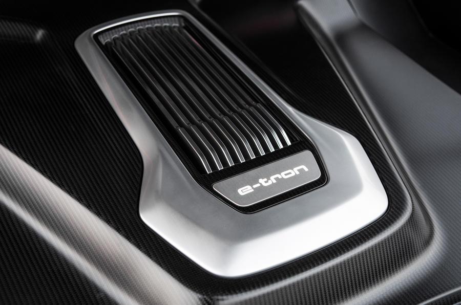 Audi R8 e-tron's drivetrain