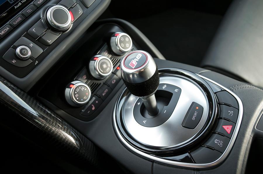 first drive review audi r8 v10 plus s tronic review autocar rh autocar co uk Drain Plug Audi R8 audi r8 manual gearbox problems