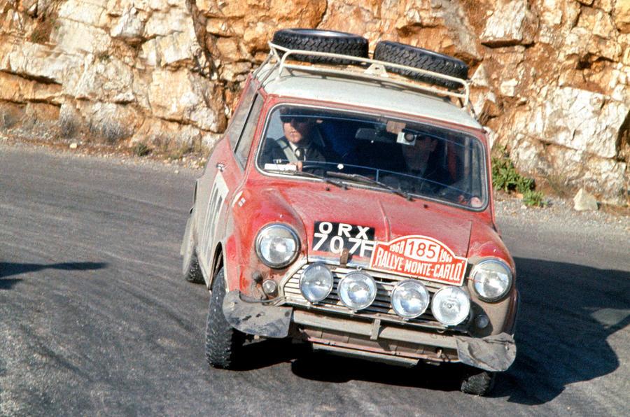 Mini Cooper S at the Monte Carlo rally: picture special