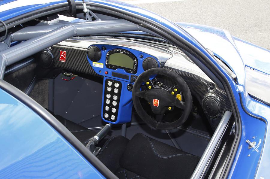 Radical RXC interior