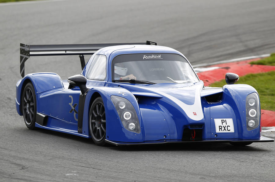 Radical RXC hard cornering