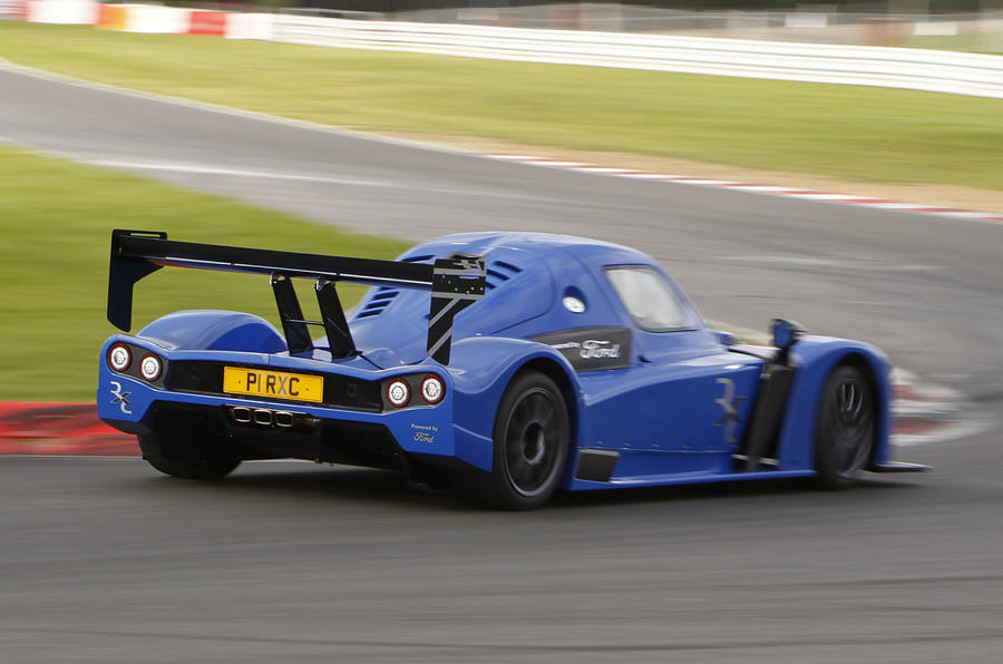 Radical RXC rear cornering