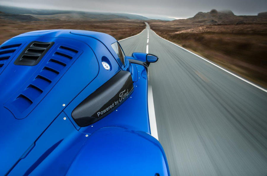 Rear view of the Radical RXC