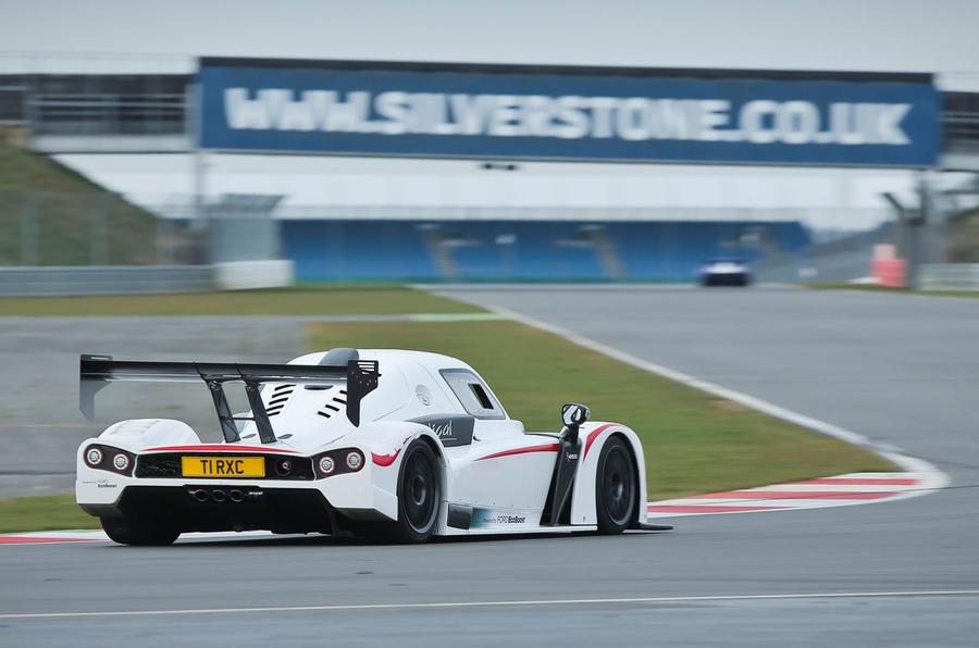 Radical RXC500 rear cornering