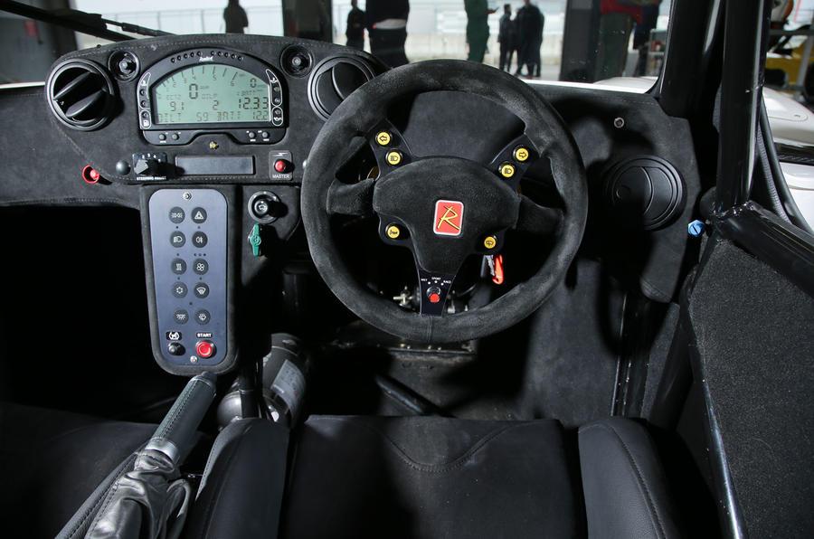Radical RXC500 dashboard