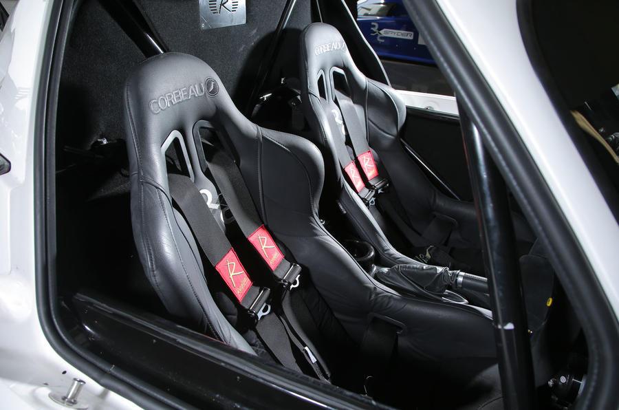 Radical RXC500 sport seats